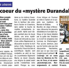 "Article du journal ""Vlan Liège"", août 2016"