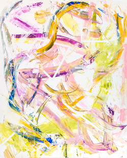82B Spring Awakening, 2015, acrylic on canvas, 48x60 inches
