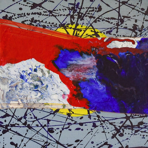 Mother- Daughter Pandemic 2020 Paintings Portfolio 2020