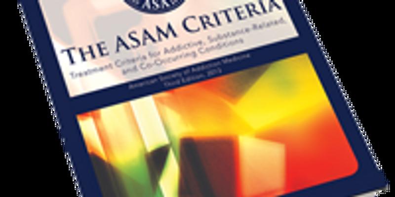 Understanding ASAM Criteria