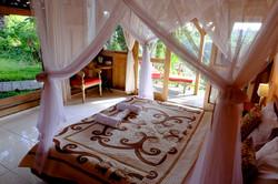 Prashanti Eco Hotel Room