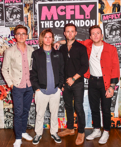 McFly Press Event
