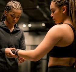 Ramla Ali Nike Campaign With Jorja Smith