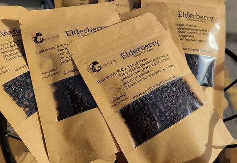 Raw Elderberry