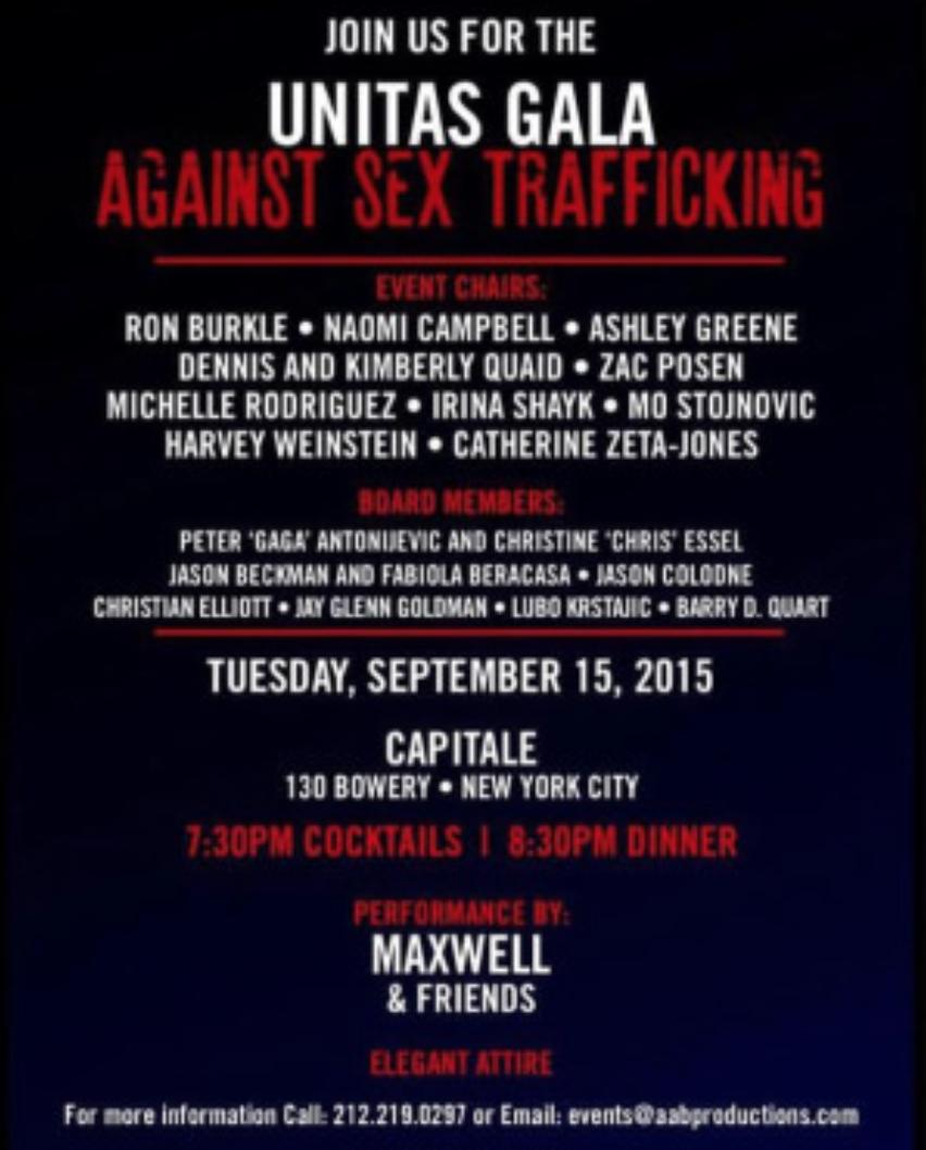 Unitas 2015 Invitation