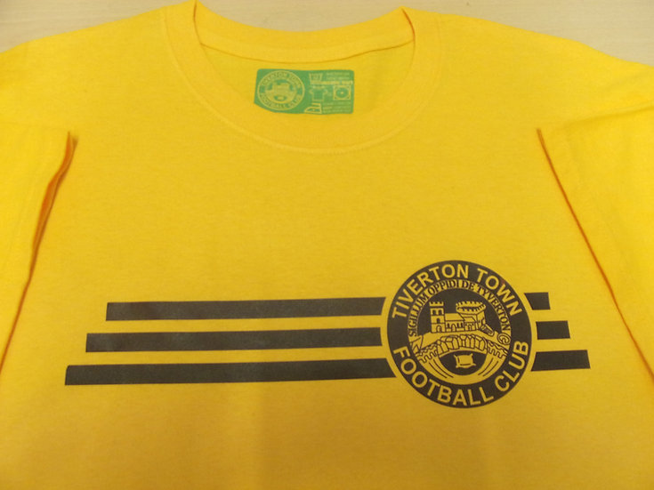 TIVERTON TOWN F.C.  Amber T-Shirt