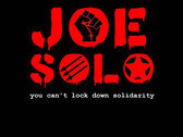 JOE SOLO You cant lockdown solidarity Tote bag