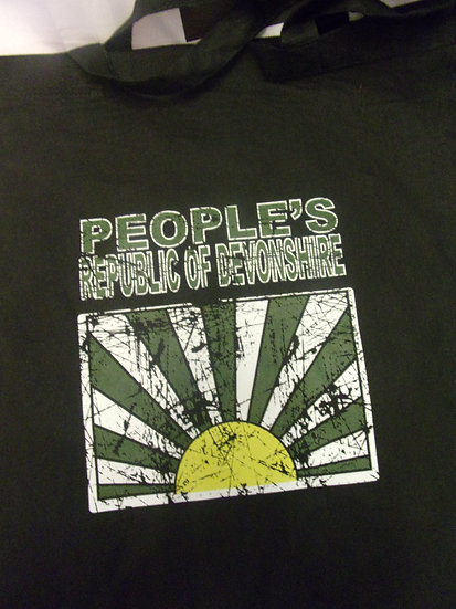 PEOPLE'S REPUBLIC OF DEVONSHIRE Tote Bag