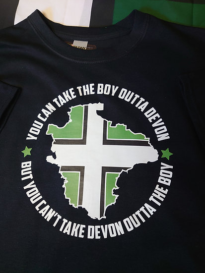 YOU CAN TAKE THE BOY OUTTA DEVON T-Shirt