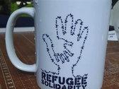 REFUGEE SOLIDARITY Ceramic Mug