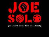 JOE SOLO You can't lockdown solidarity T-Shirt