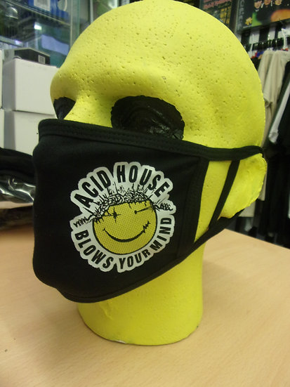 ACID HOUSE BLOWS YOUR MIND Face Mask