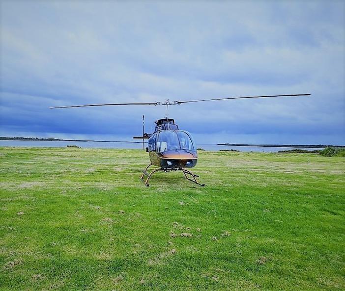 Port Albert Motel Helicopter