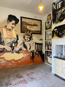Cafe Aga Mural