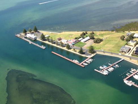 Port Albert Motel Aerial