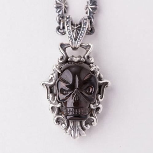 Inferno Black crystal Pendant