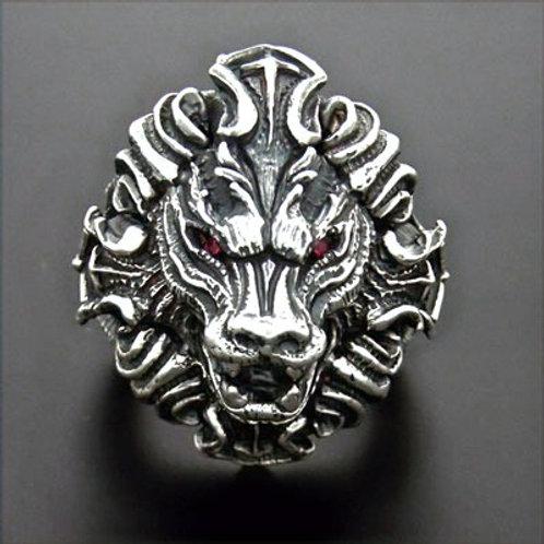 regina leo silver Ring