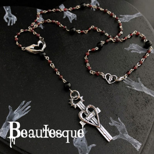 ≪Beautesque≫Grave marker [Love] necklace