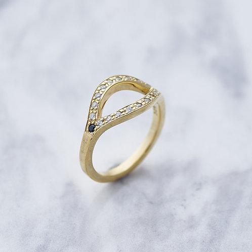 ≪Crescent Luna≫MISTERIO RING GOLD