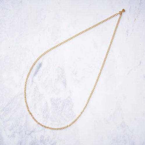 ≪Crescent Luna≫CRESCENT LUNA CHAIN GOLD