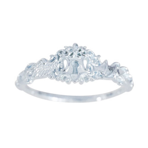 ≪UMIKUN × Fatima Design≫ Ring K10 WhiteGOLD#15~23