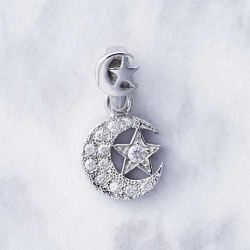 ≪Crescent Luna≫Companeros SILVER Necklace