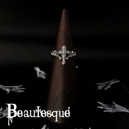 ≪Beautesque≫Satanic Cross ring