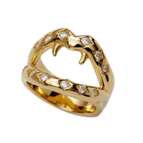 ≪mouchu≫Fang Ring GOLD