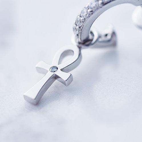 ≪Crescent Luna≫TRANSPORTER PIERCE Earrings