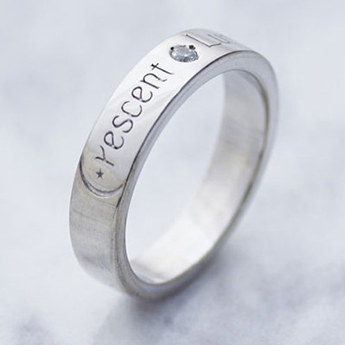 ≪Crescent Luna≫CRESCENT LUNA RING SILVER