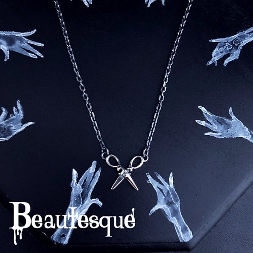 ≪Beautesque≫Scissors necklace