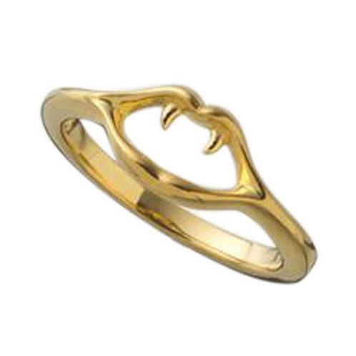 ≪mouchu≫Fang Small ring GOLD