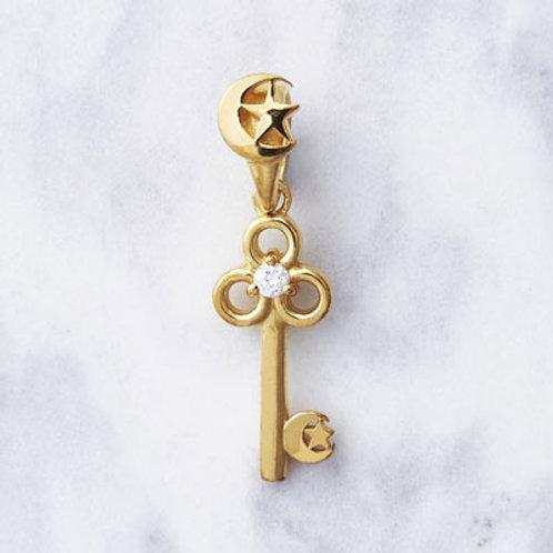 ≪Crescent Luna≫Clave GOLD Necklace