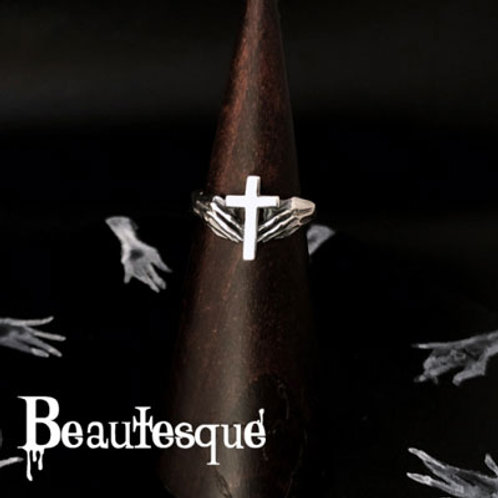 ≪Beautesque≫Prayer Cross ring