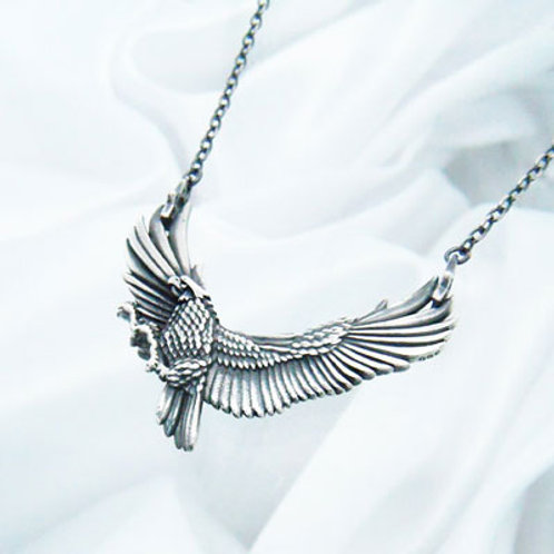 ≪Crescent Luna≫HALCON SILVER Necklace