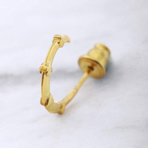 ≪Crescent Luna≫CRUZADA PIERCE GOLD Earrings