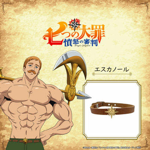 ≪The Seven Deadly Sins × FatimaDesign≫Escanor/Leather bracelet