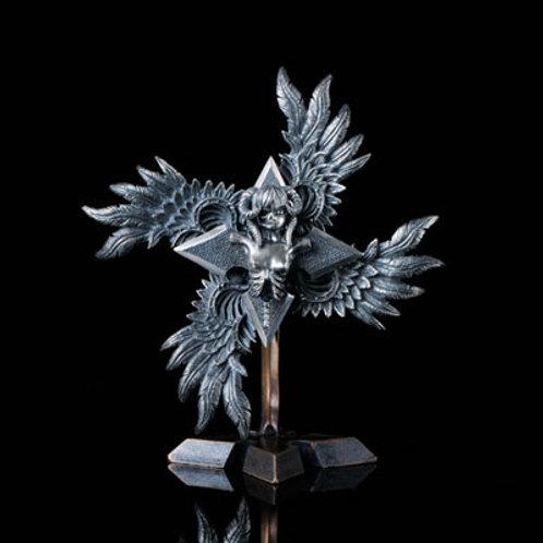 Yomotsuhirasaka Shuriken ornament With pedestal