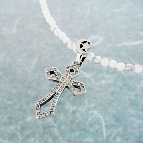 ≪Crescent Luna≫EL MAR Necklace White