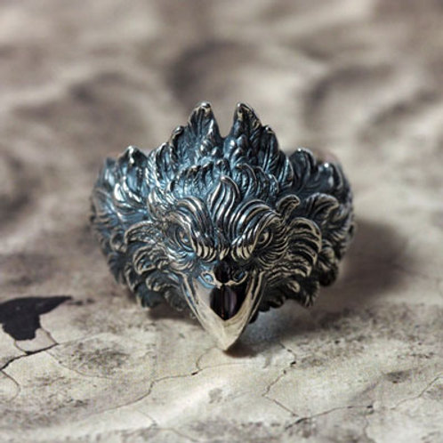Griffin silver Ring/ATR-013