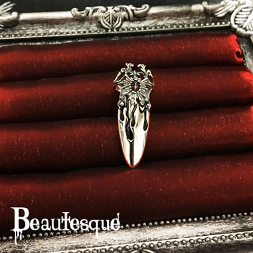≪Beautesque≫Wages of sin Nail Ring B-R-26