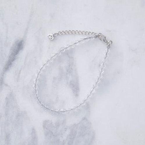 ≪Crescent Luna≫CRYSTAL GLASS BRACELET