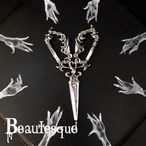≪Beautesque≫the Grim Reaper Scissors Pendant