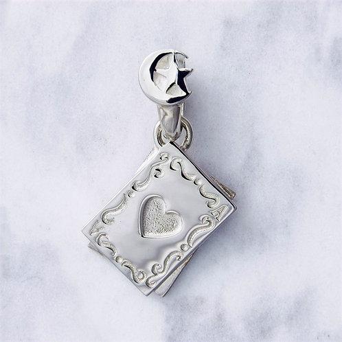 ≪Crescent Luna≫TARJETAS SILVER Necklace