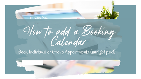 Become a Wix Wiz   How to Add a Booking Calendar