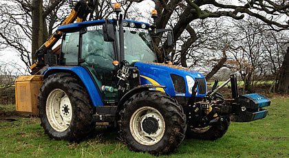 Tractor & Man Hire.