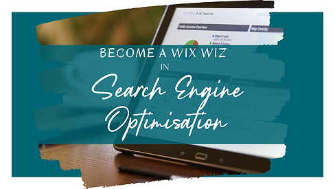 Become a Wix Wiz   Search Engine Optimisation