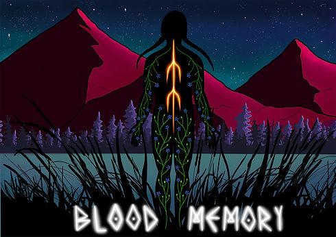 Blood Memory Project Artwork