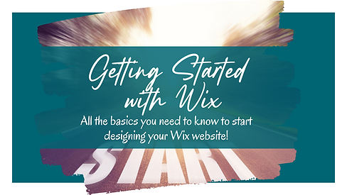 Become a Wix Wiz   Getting Started with Wix