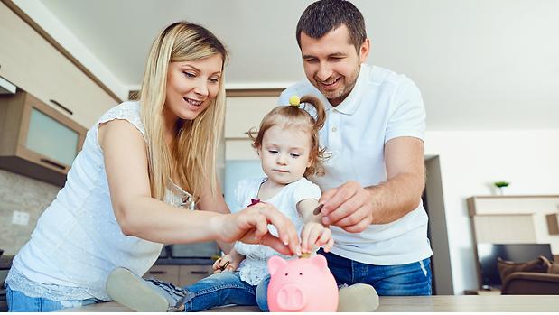 Mortgage Saving young family
